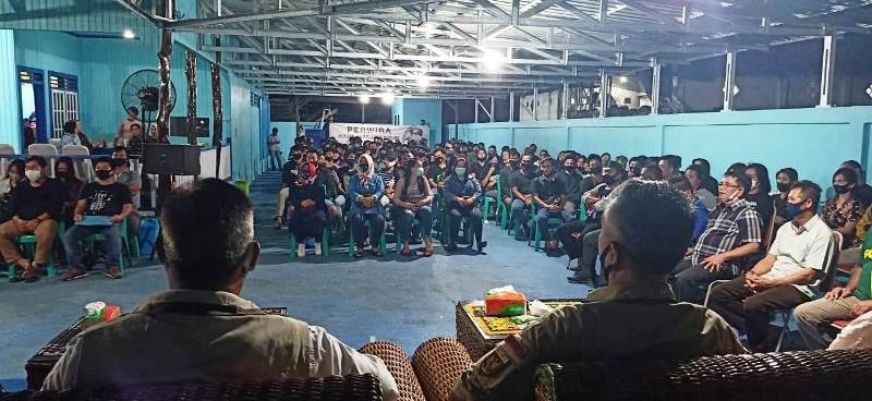 Dihadapan Generasi Muda, Ini Kisah Wempi Perjuangkan Hak Anak Muda Malinau