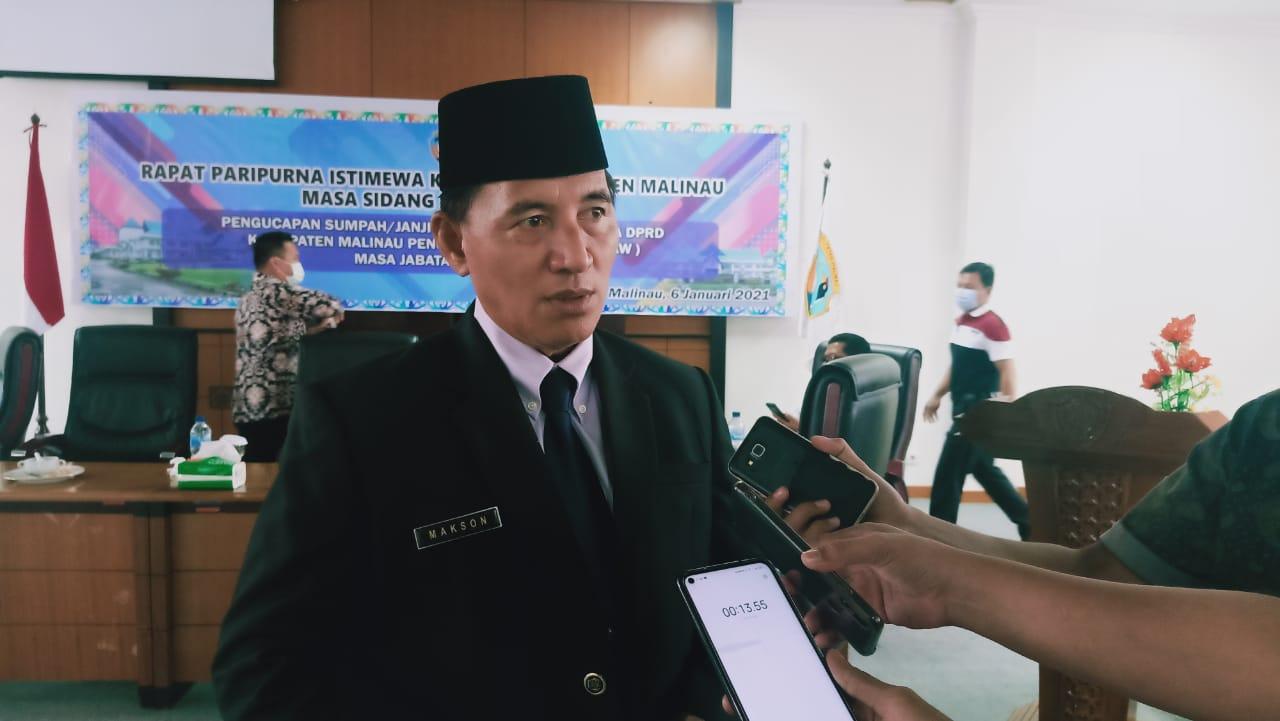 Dua Anggota DPRD Malinau PAW Dilantik